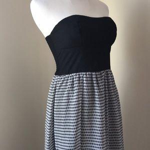 Strapless Maxi Black dress